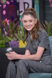 Natalia Dyer - AOL Build in NYC