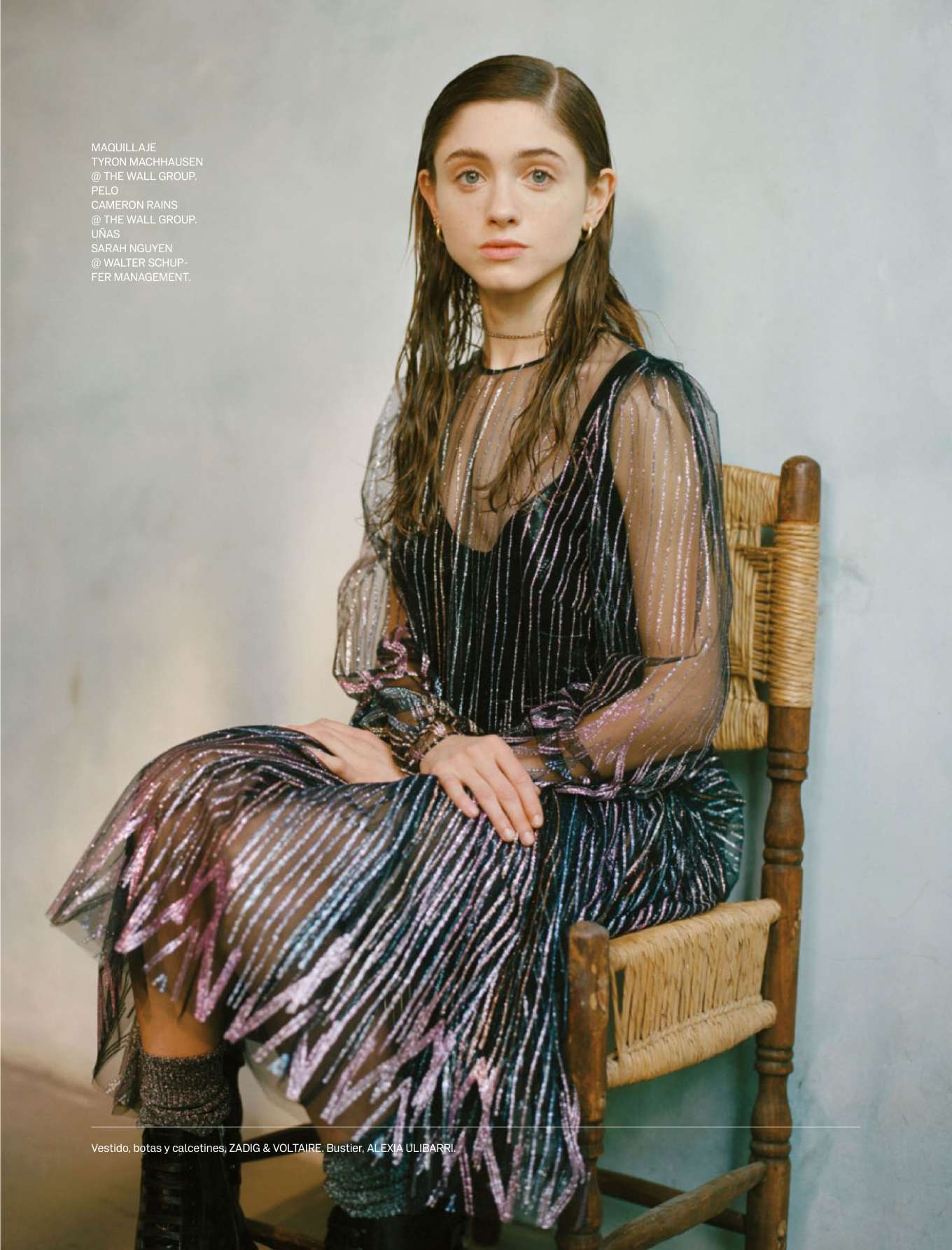 Natalia Dyer - Elle Mexico Magazine (July 2019)