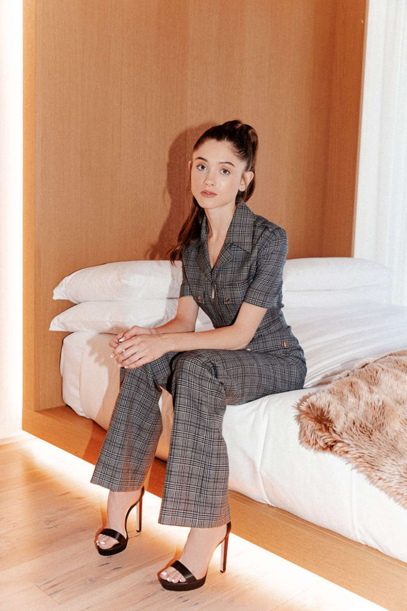 Natalia Dyer for Into The Gloss (July 2019)