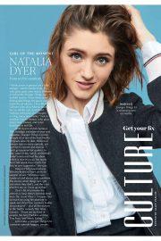 Natalia Dyer - Marie Claire Australia Magazine (September 2019)