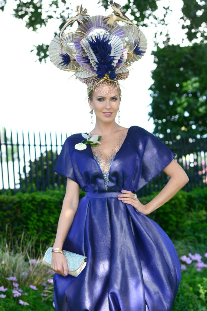 Natalia Kapchuk - Day 4 of Royal Ascot at Ascot Racecourse in Ascot