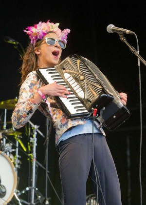 Natalia Tena - Performs at WOMAD 2015 in Wiltshire