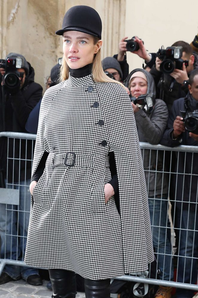 Natalia Vodianova - Arrives at Dior Fall Winter 2017 Show in Paris