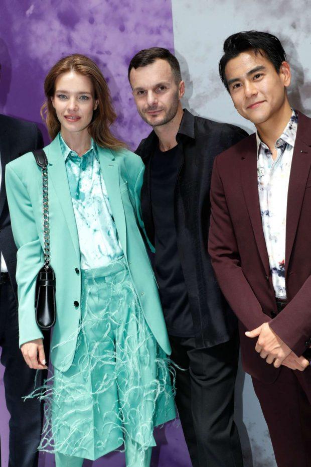 Natalia Vodianova: Berluti Menswear SS 2020 Show-03