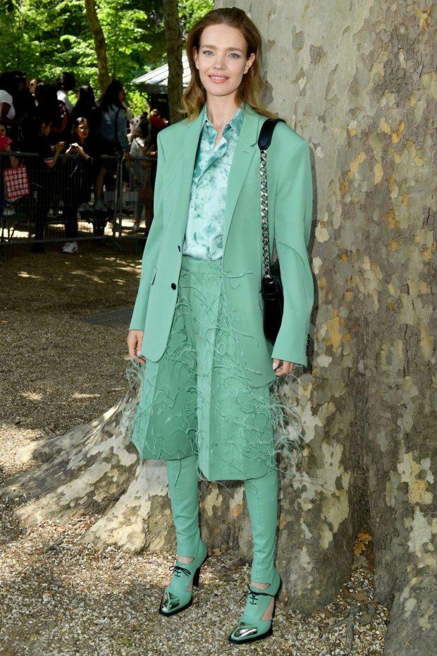 Natalia Vodianova: Berluti Menswear SS 2020 Show-29