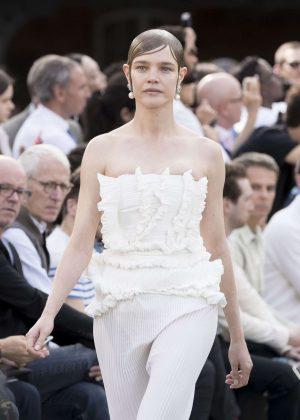 Natalia Vodianova - Givenchy Spring/Summer 2017 Paris Fashion Week in Paris