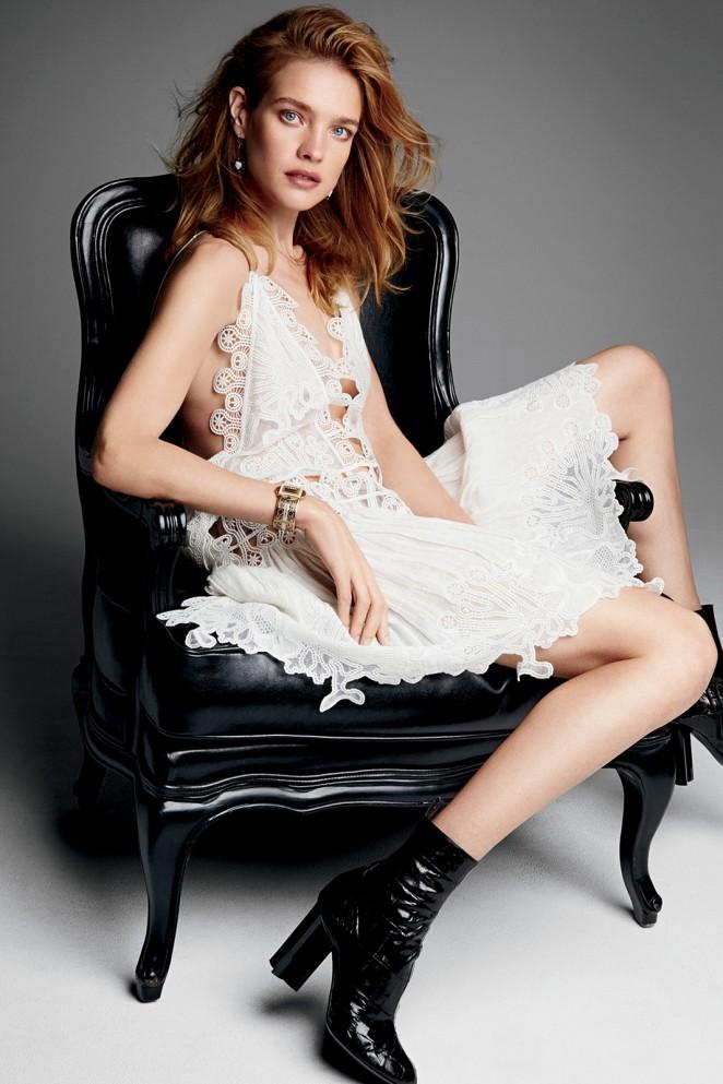 Natalia Vodianova - Glamour Magazine (April 2015)