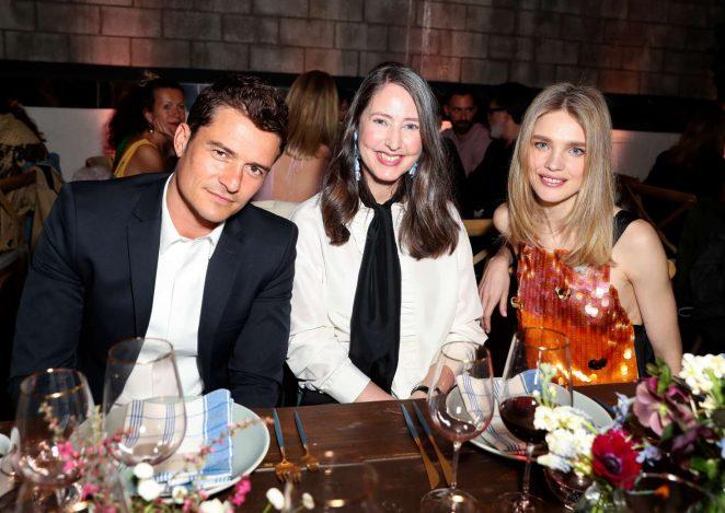 Natalia Vodianova: H&M Conscious Exclusive Collection Dinner -01