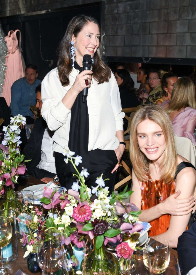 Natalia Vodianova: H&M Conscious Exclusive Collection Dinner -05