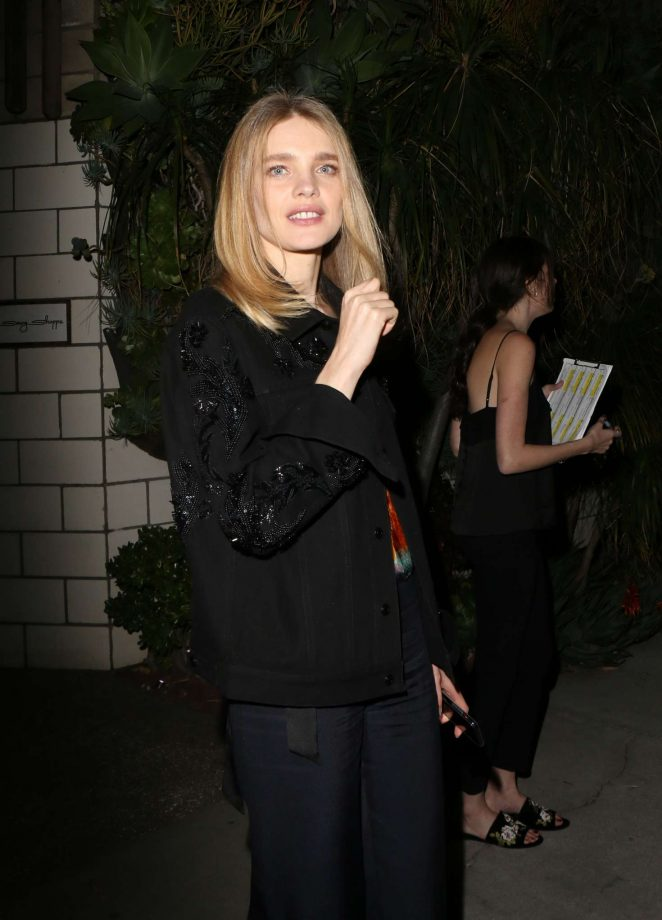 Natalia Vodianova: H&M Conscious Exclusive Collection Dinner -17