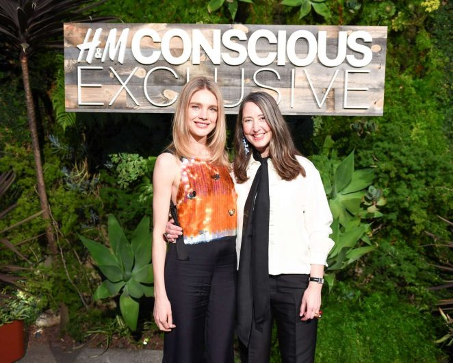 Natalia Vodianova: H&M Conscious Exclusive Collection Dinner -20