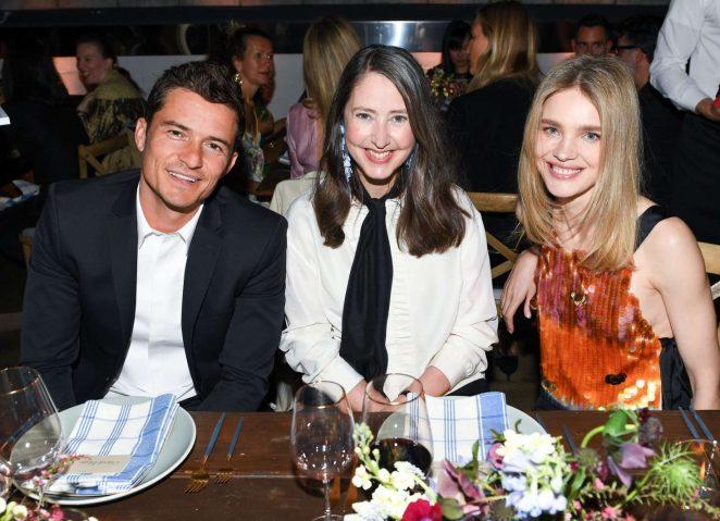 Natalia Vodianova 2017 : Natalia Vodianova: H&M Conscious Exclusive Collection Dinner -22