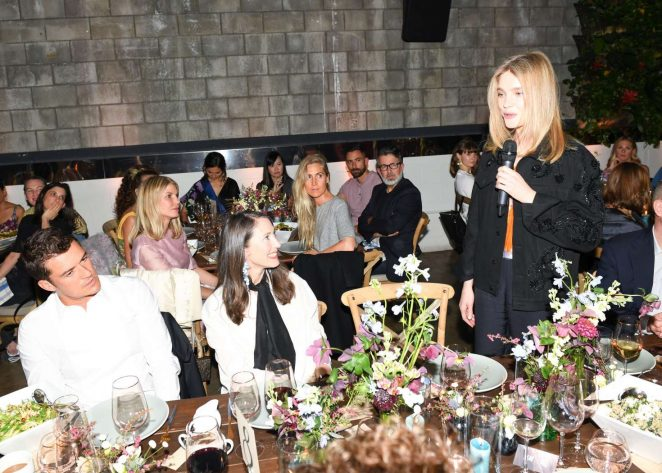 Natalia Vodianova: H&M Conscious Exclusive Collection Dinner -26