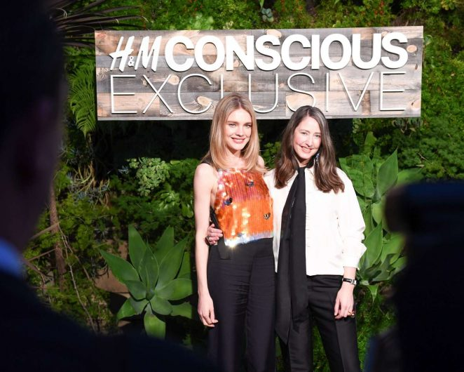 Natalia Vodianova: H&M Conscious Exclusive Collection Dinner -27