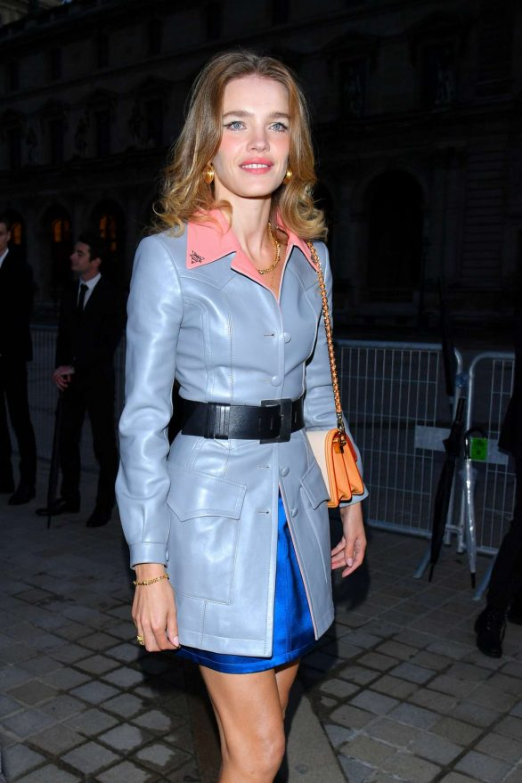 Natalia Vodianova - Louis Vuitton Womenswear SS 2020 Show at Paris Fashion Week