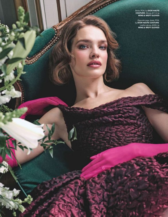 Natalia Vodianova - Tatler UK Magazine (March 2020)