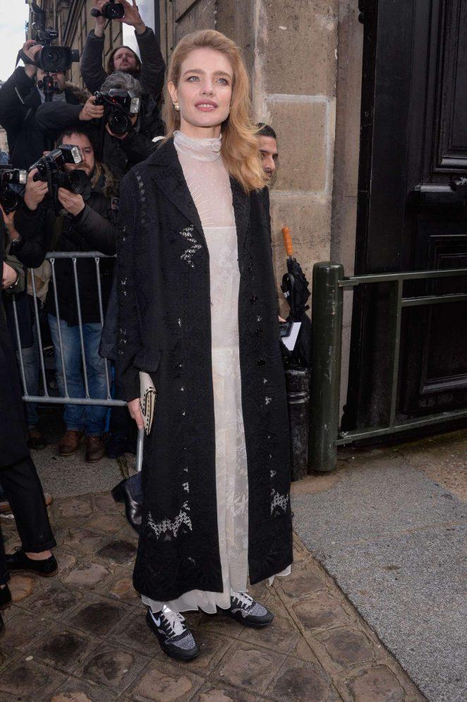 Natalia Vodianova - Valentino Show at 2017 PFW in Paris