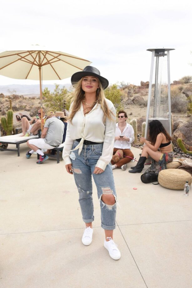 Natalie Alyn Lind - Caliwater Escape at the Mojave Moon Ranch in Joshua Tree