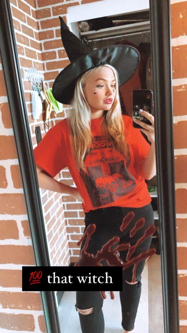 Natalie Alyn Lind - Halloween pics
