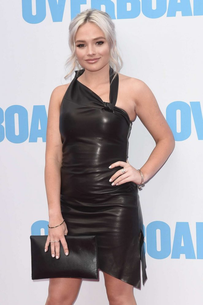 Natalie Alyn Lind - 'Overboard' Premiere in Los Angeles