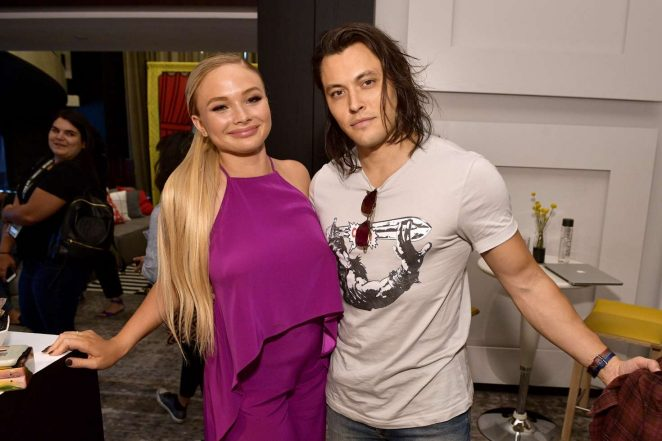 Natalie Alyn Lind - Pizza Hut Lounge at 2018 Comic-Con in San Diego