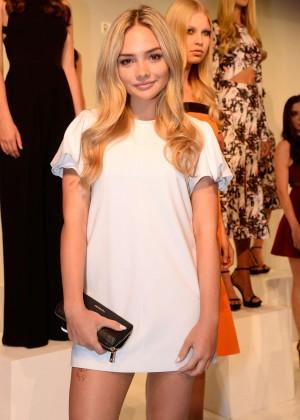 Natalie Alyn Lind - Rebecca Vallance Presentation at Spring 2016 NY Fashion Week