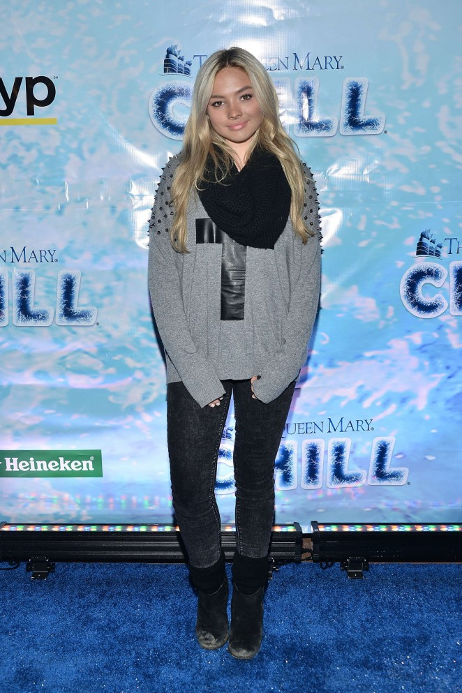 Natalie Alyn Lind: The Queen Marys CHILL Freezes Over SoCal -03