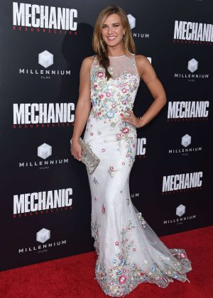 Natalie Burn - 'Mechanic: Resurrection' Premiere in Los Angeles