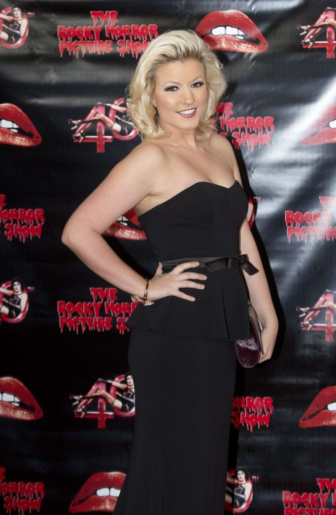 Natalie Coyle - The Rocky Horror Picture Show: 40th Anniversary Screening in London