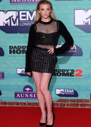 Natalie Dormer - 2017 MTV Europe Music Awards in London