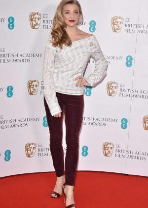 Natalie Dormer - 2018 BAFTA Awards Nominations Live Stream in London