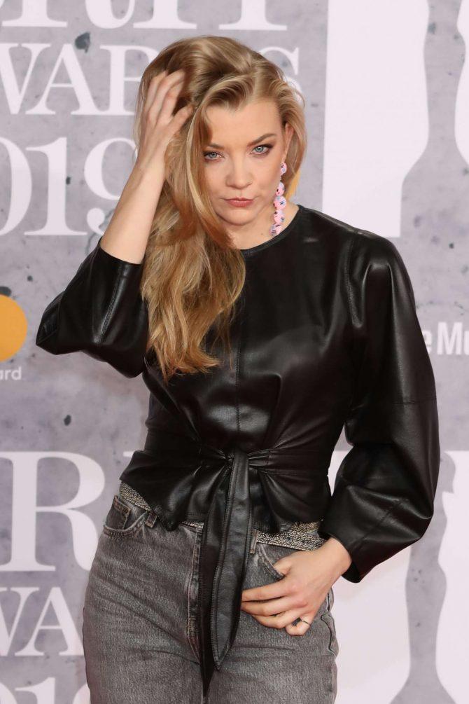 Natalie Dormer – 2019 BRIT Awards in London