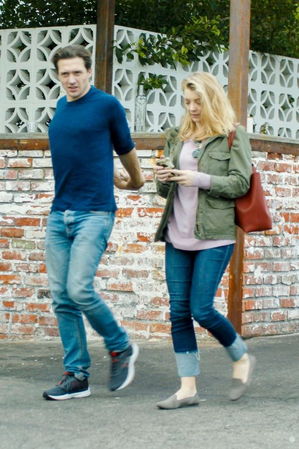 Natalie Dormer and David Oakes - Out for lunch in Los Angeles
