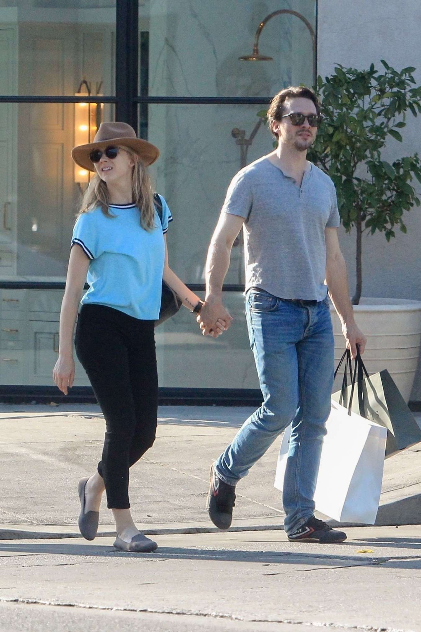 Natalie Dormer and David Oakes - Shopping on Melrose Place in West Hollywood