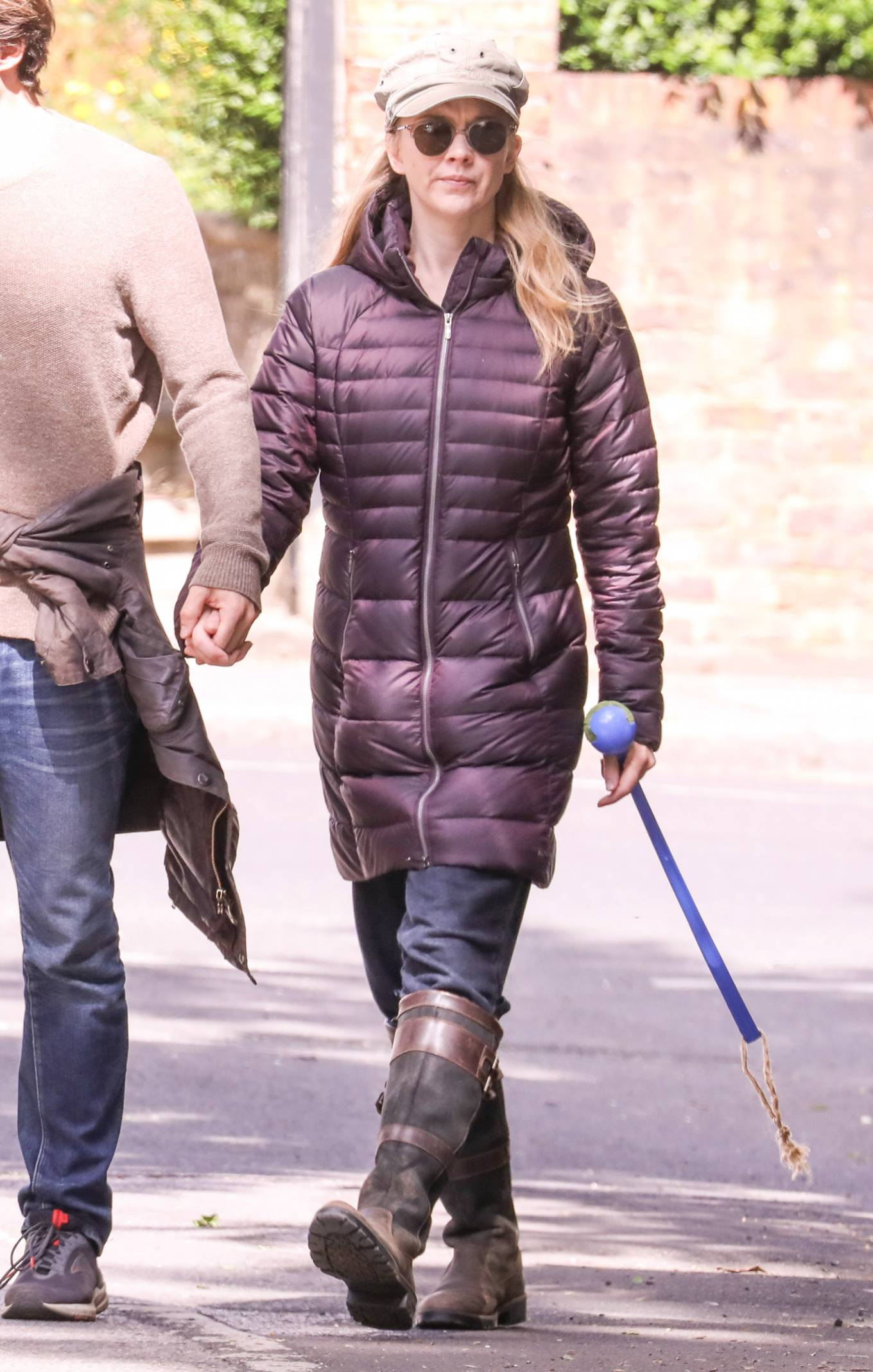 Natalie Dormer 2020 : Natalie Dormer and her boyfriend David Oakes – Takes her dog Indy for a walk in Richmond Park-04