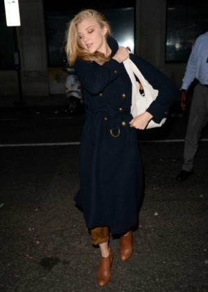 Natalie Dormer - Arrives at BBC Radio 2 in London
