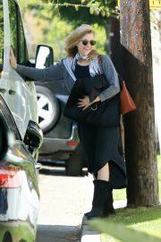 Natalie Dormer - Arrives on the set of 'Penny Dreadful: City of Angels' in Glendale