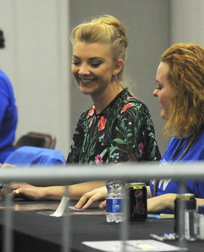 Natalie Dormer at Comic-Con in London