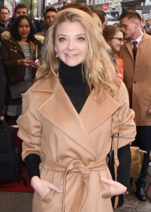 Natalie Dormer at 'Doctor Faustus' Gala Night in London