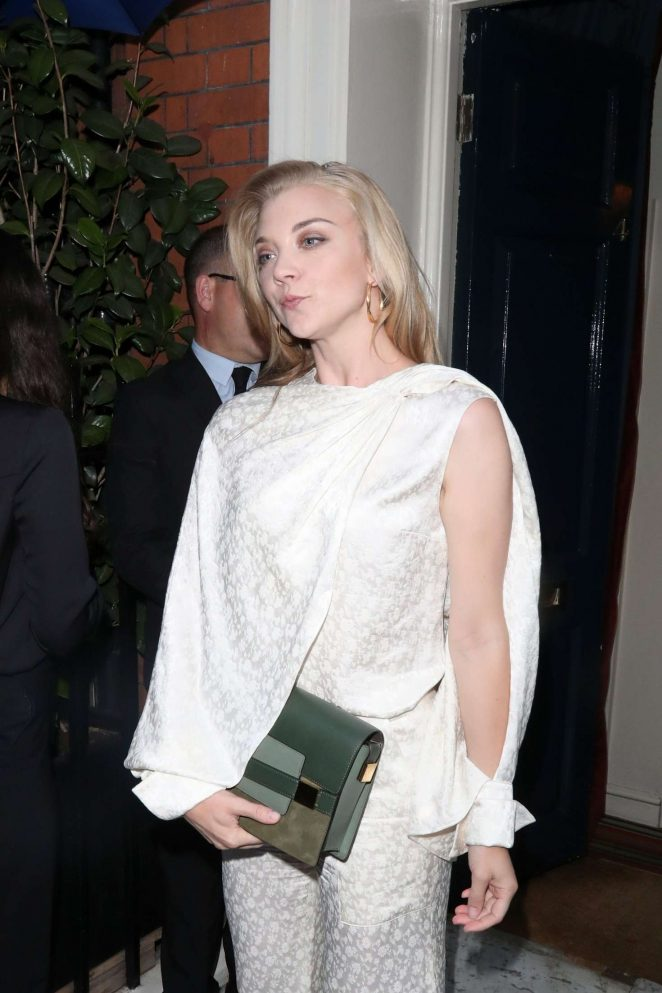 Natalie Dormer - Delvaux x Vogue Cocktails in London