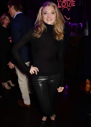 Natalie Dormer - 'Doctor Faustus' Opening Night Afterparty in London