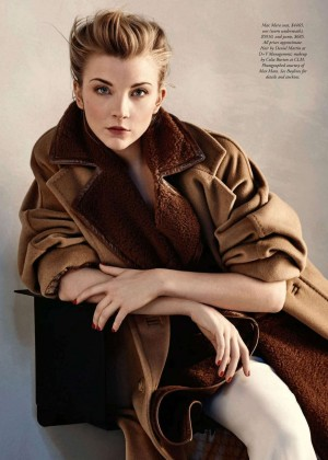 Natalie Dormer - Harper's Bazaar Australia (May 2016)