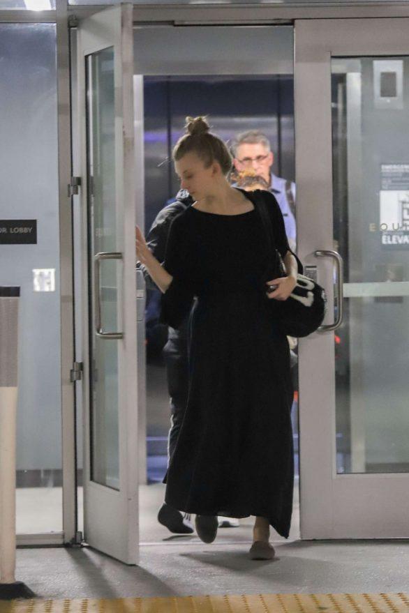 Natalie Dormer 2019 : Natalie Dormer in Black Long Dress-04