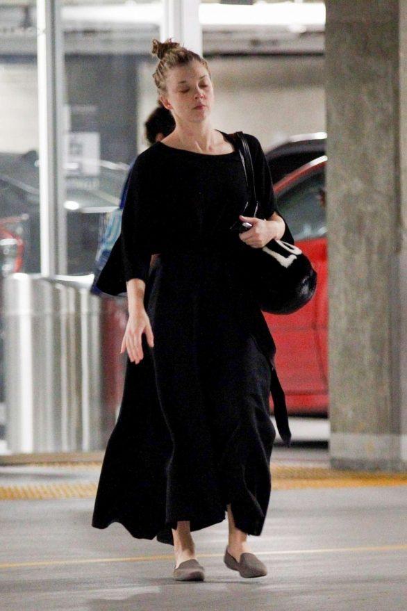 Natalie Dormer 2019 : Natalie Dormer in Black Long Dress-05