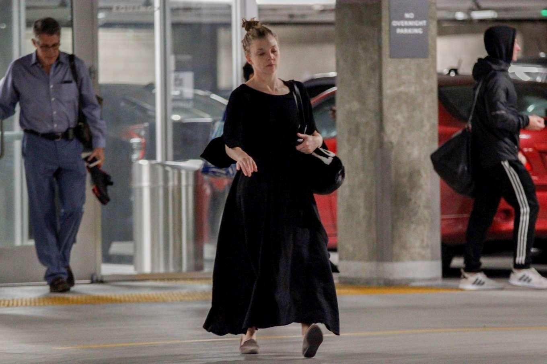Natalie Dormer 2019 : Natalie Dormer in Black Long Dress-07