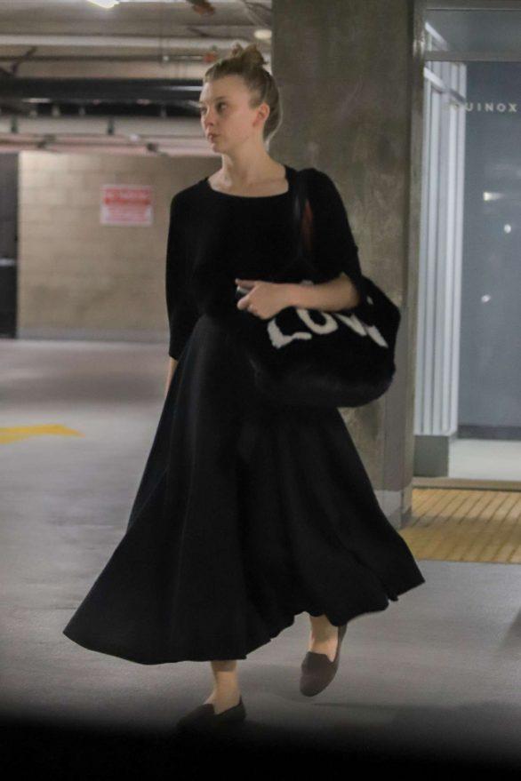 Natalie Dormer 2019 : Natalie Dormer in Black Long Dress-11