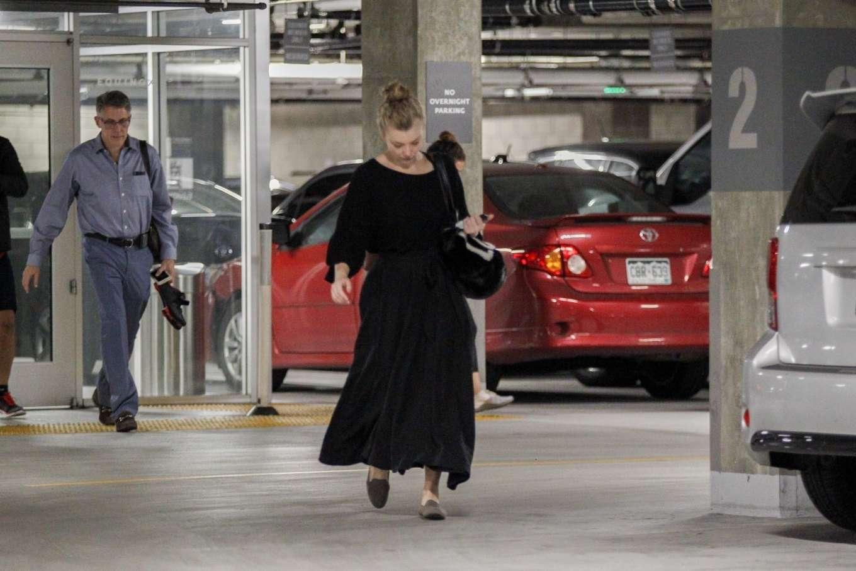 Natalie Dormer 2019 : Natalie Dormer in Black Long Dress-12