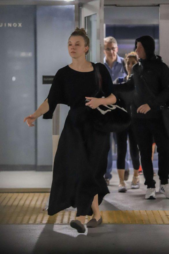 Natalie Dormer 2019 : Natalie Dormer in Black Long Dress-14