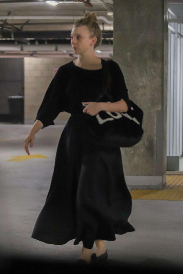 Natalie Dormer 2019 : Natalie Dormer in Black Long Dress-18