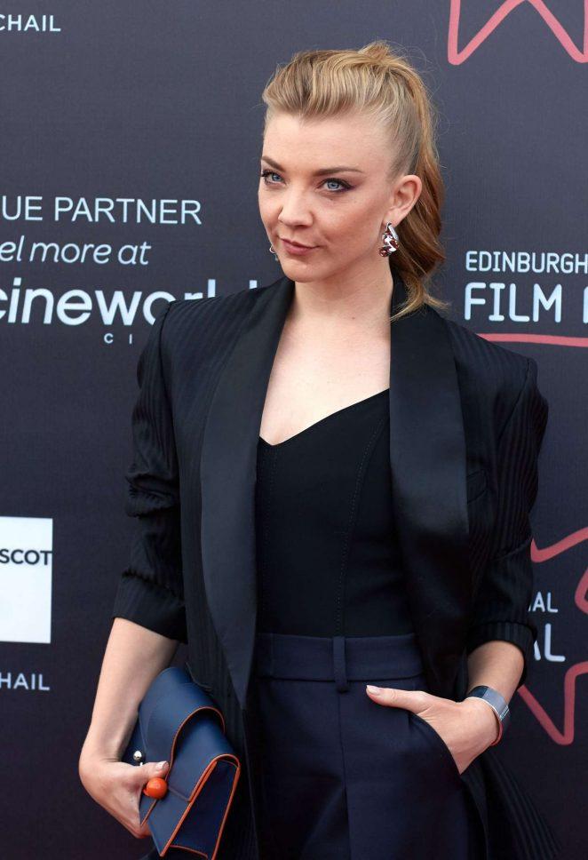 Natalie Dormer - 'In Darkness' Premiere at Edinburgh International Film Festival